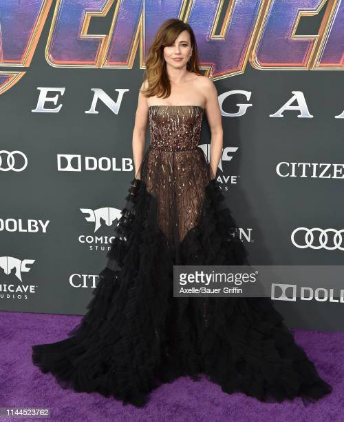 Linda Cardellini attends the World Premiere of Walt Disney Studios Motion Pictures 'Avengers Endgame' at Los Angeles Convention Center on April 22...