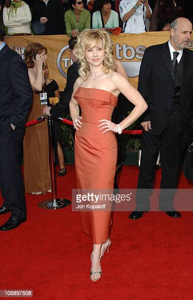Linda Cardellini during 12th Annual Screen Actors Guild Awards - Arrivals at Shrine Auditorium in Los Angeles, CA, United States.