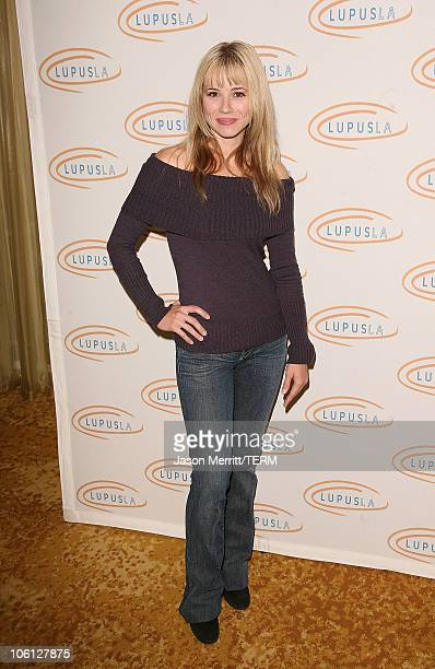 Linda Cardellini during Hollywood Bag Ladies Lupus Luncheon Honoring Carrie Brillstein at Regent Beverly Wilshire Hotel in Beverly Hills California...