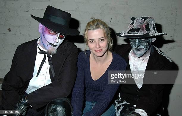 Linda Cardellini during Linda Cardellini Mekhi Phifer and Shane West of ER Visit Knott's Scary Farm's 34th Annual Halloween Haunt at Knott's Berry...
