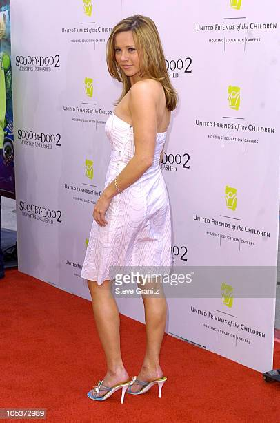 """Linda Cardellini during """"Scooby-Doo 2: Monsters Unleashed"""" Premiere at Grauman's Chinese in Hollywood, California, United States."""