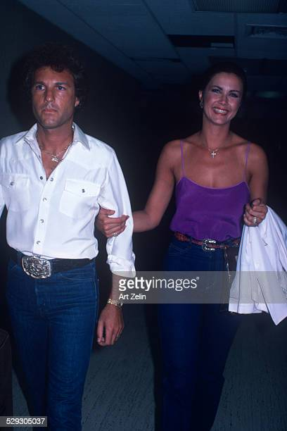 Linda Carter and husband circa 1970 New York