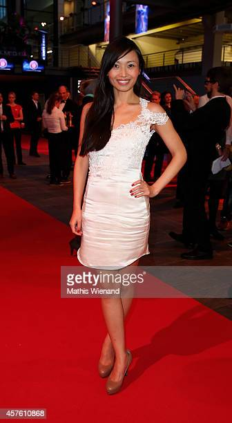 Linda Chang attends the 18th Annual German Comedy Awards at Coloneum on October 21 2014 in Cologne Germany The show will be aired on RTL on October 25