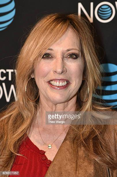 Linda Cohn attends the DirectTV Now Launch at Venue 57 on November 28 2016 in New York City