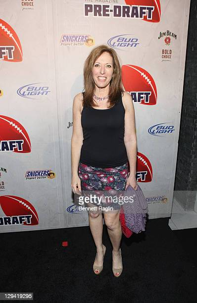 Linda Cohn attends the Eighth Annual PreDraft party presented by ESPN The Magazine at Espace on April 27 2011 in New York City
