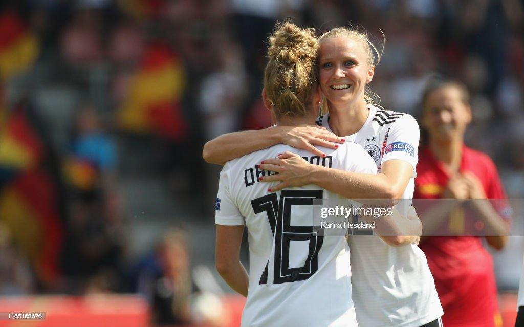 Germany v Montenegro - UEFA Women's European Championship 2021 Qualifier : Nachrichtenfoto