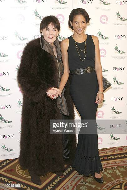 Linda Dano and Veronica Webb at Veronica Webb Hosts the 14th Annual QVC Presents FFANY Shoes on Sale Benefitting Breast Cancer Research on October...
