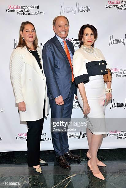 Linda David Store Director at Salvatore Ferragamo Jon Borland and Judith Rubin attend Designer As Dramatist With Ken Downing And Zac Posen At Wallis...