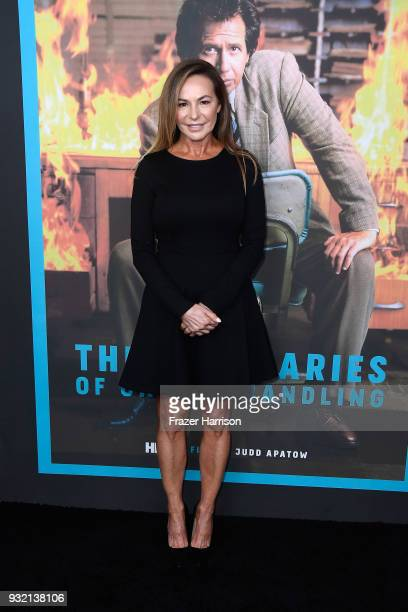 Linda Doucett attends the screening of HBO's The Zen Diaries Of Garry Shandling at Avalon on March 14 2018 in Hollywood California
