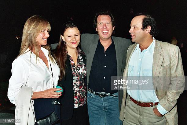Linda Doucett Tracey Ullman Garry Shandling and Michael Fuchs