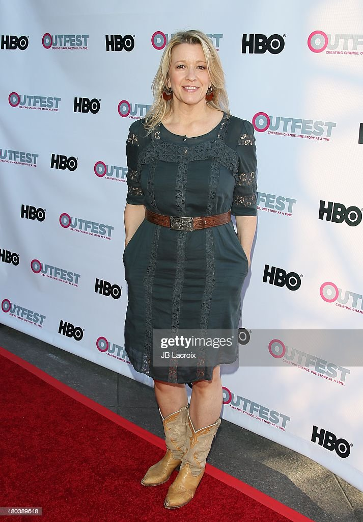 Linda Emond attends the Premiere of IFC's 'Jenny's Wedding' at 2015 Outfest Los Angeles LGBT Film Festival at Director's Guild Of America on July 10, 2015 in West Hollywood, California.