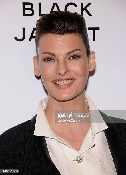 805ab2696e3 Linda Evangelista attends Chanel'sThe Little Black Jacket Event at Swiss  Institute on June 6