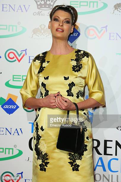a8d9606b1f Linda Evangelista attends The Children For Peace Benefit Gala at Spazio 900  on November 30 2013