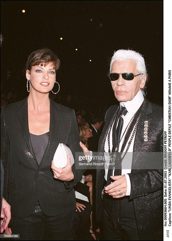 Christian Dior Fashion Show : News Photo