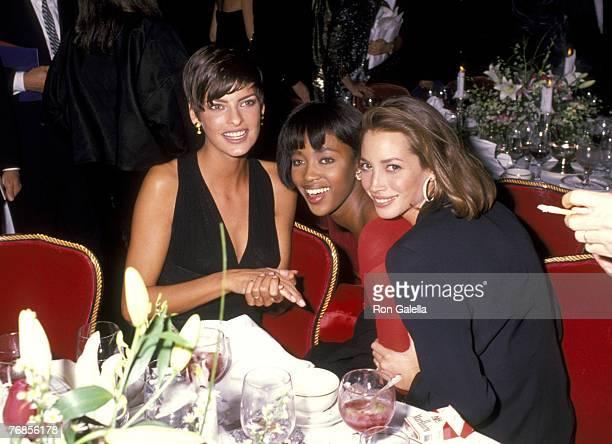 Linda Evangelista, Naomi Campbell, and Christy Turlington