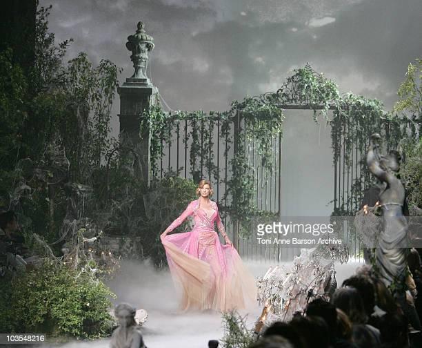 Linda Evangelista Wearing DIOR Haute Couture