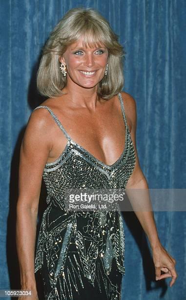 Linda Evans during 35th Annual Primetime Emmy Awards at Pasadena Civic Auditorium in Pasadena California United States