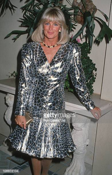 Linda Evans during Nolan Miller's Culture Collection Unveiled at Four Seasons Hotel in Beverly Hills California United States