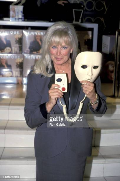 Linda Evans during Rejuvenique Facial Treatment System by Salton Maxim Promotion at Macy's New York City in New York City New York United States