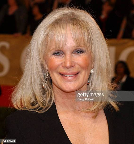 Linda Evans during The 30th Annual People's Choice Awards Arrivals at Pasadena Civic Auditorium in Pasadena California United States
