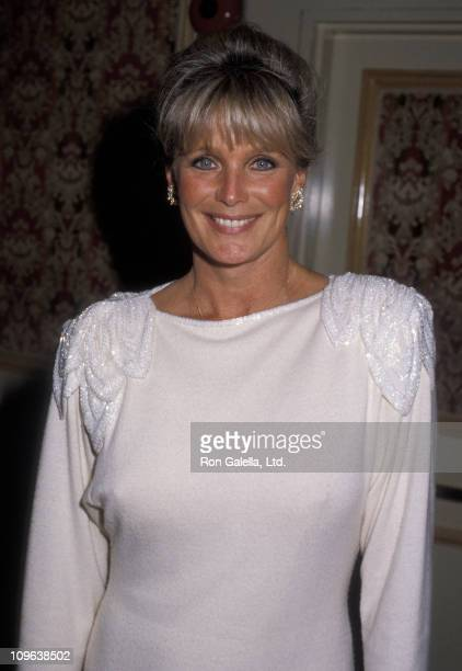 Linda Evans during Tribute to Bud Grant at Beverly Wilshire Hotel in Beverly Hills California United States