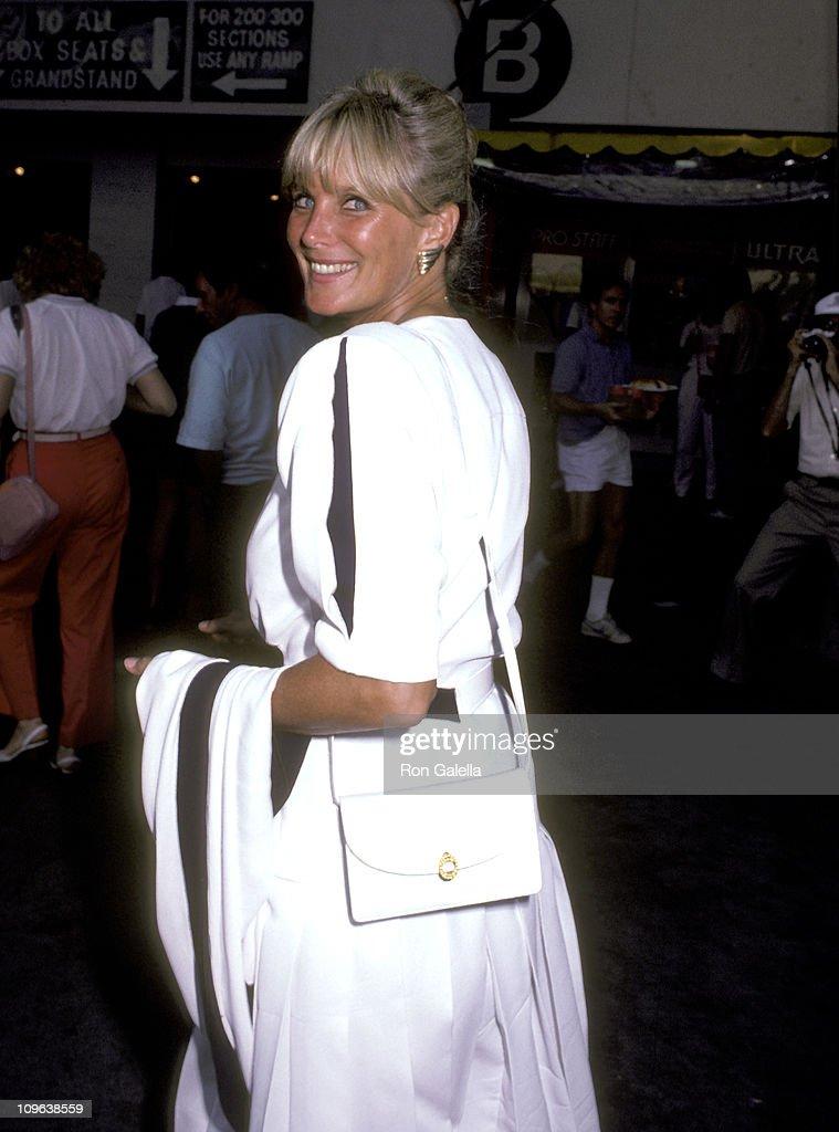 U.S. Open Tennis Celebrity Sightings - September 7, 1985