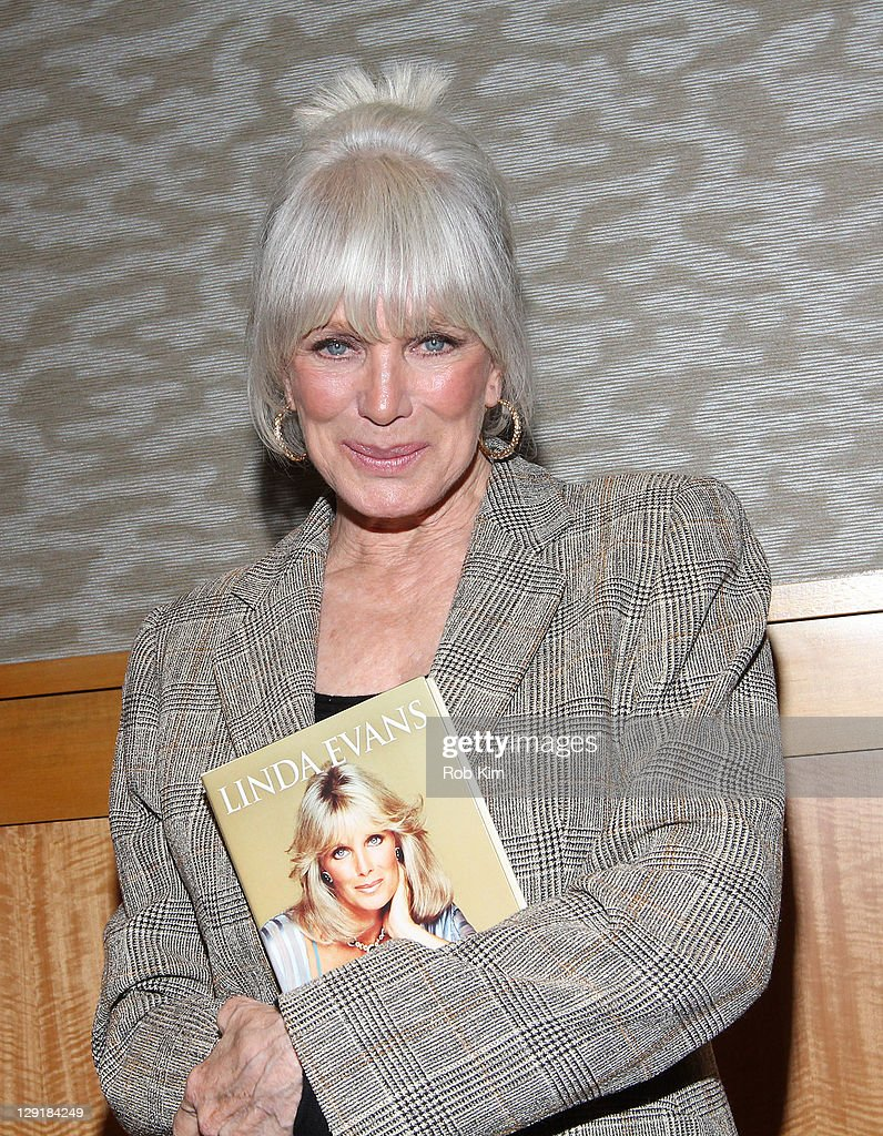 "Linda Evans Signs Copies Of ""Recipes For Life"""