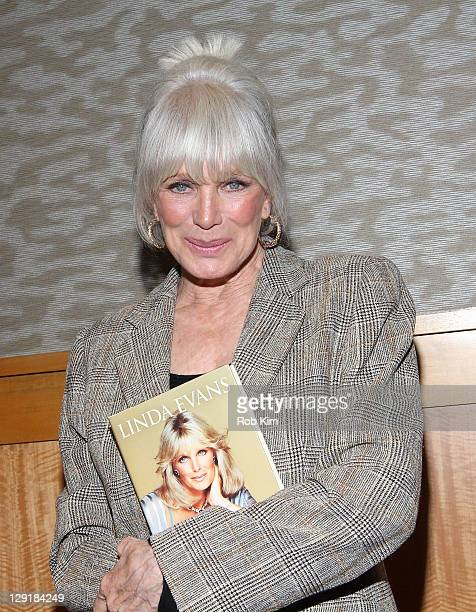 Linda Evans promotes her new book Recipes for Life at Barnes Noble 86th Lexington on October 13 2011 in New York City