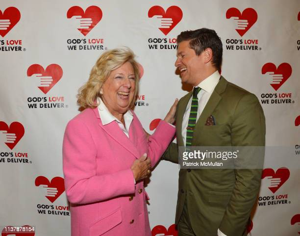 Linda Fairstein and David Burtka attend The 16th Annual Authors In Kind Benefiting God's Love We Deliver at The Metropolitan Club on April 17 2019 in...