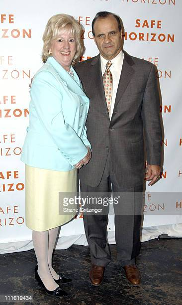 Linda Fairstein and Joe Torre during Safe Horizon 10th Annual Champion Awards Luncheon Honoring Ali Torre and Joe Torre at The 69th Regiment Armory...