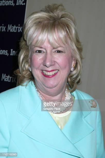 Linda Fairstein honoree during The 2005 Matrix Awards at WaldorfAstoria in New York City New York United States