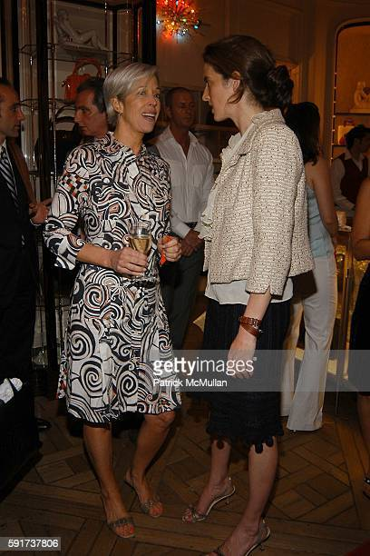 Linda Fargo and Eliza Reed Bolen attend Madonna Childrens Book Lotsa de Casha published by Callaway Arts and Entertainment at Bergdorf Goodman on...