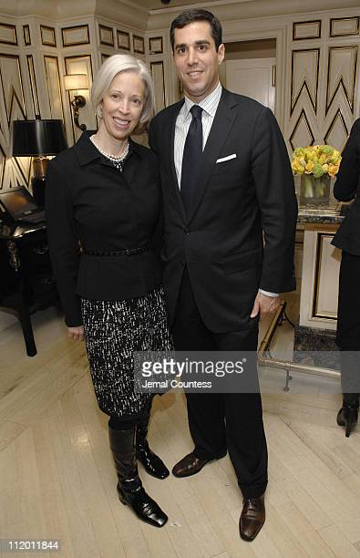 Linda Fargo and Jim Gold during Melania Trump & Susie Hilfiger Host Best & Co. Fashion Show and Breakfast to Benefit Society of Memorial...