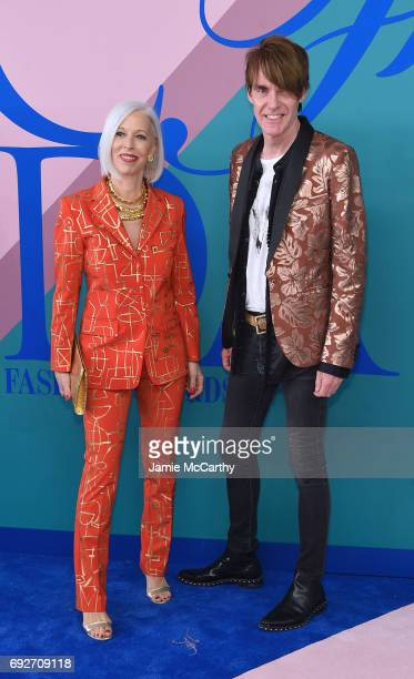 Linda Fargo and Ken Downing attend the 2017 CFDA Fashion Awards at Hammerstein Ballroom on June 5 2017 in New York City