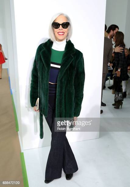 Linda Fargo attends Delpozo during New York Fashion Week at Pier 59 Studios on February 15 2017 in New York City
