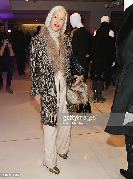 Linda Fargo attends Elie Tahari Presentation during Fall 2016 New York Fashion Week on February 14 2016 in New York City