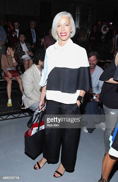Linda Fargo attends Proenza Schouler during MercedesBenz Fashion Week Spring 2015 at 23 Wall Street on September 10 2014 in New York City