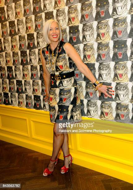 Linda Fargo attends Susan Chokachi and Linda Fargo host a private dinner to introduce Gucci Decor at BG Restaurant Bergdorf Goodman on September 6...