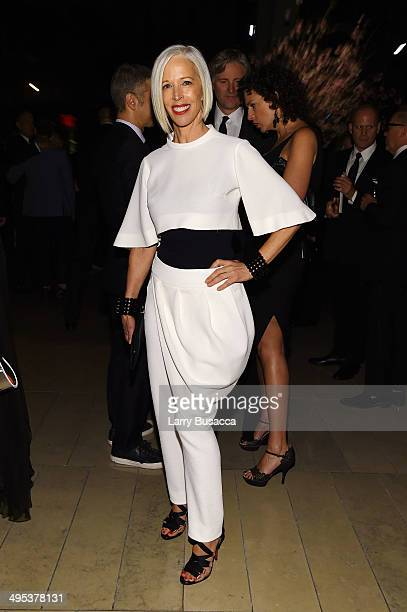 Linda Fargo attends the 2014 CFDA fashion awards at Alice Tully Hall Lincoln Center on June 2 2014 in New York City