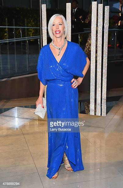 Linda Fargo attends the 2015 CFDA Fashion Awards at Alice Tully Hall at Lincoln Center on June 1 2015 in New York City