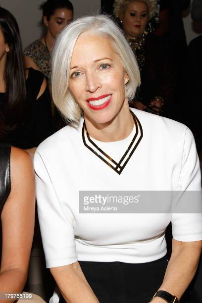 Linda Fargo attends the Cushnie Et Ochs fashion show during MADE Fashion Week Spring 2014 at Milk Studios on September 6 2013 in New York City