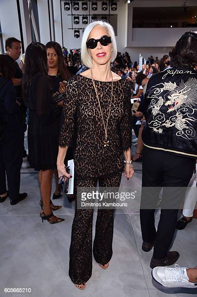 Linda Fargo attends the Michael Kors Spring 2017 Runway Show during New York Fashion Week at Spring Studios on September 14 2016 in New York City