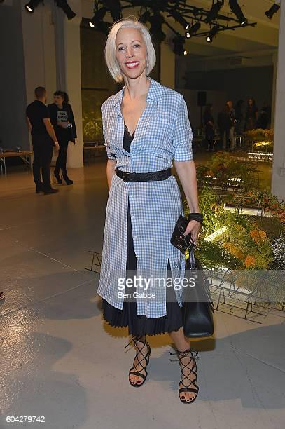 Linda Fargo attends the Rodarte fashion show during New York Fashion Week September 2016 at Center 548 on September 13 2016 in New York City