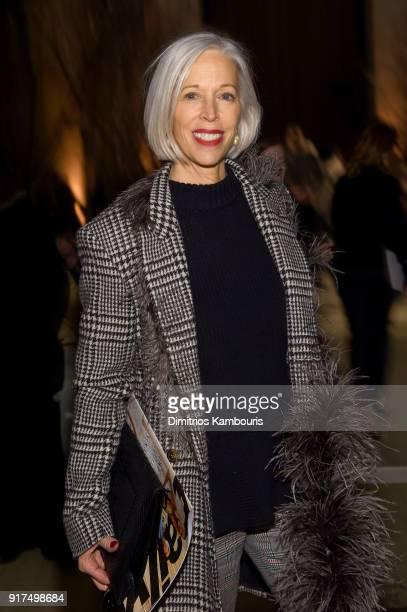 Linda Fargo Bergdorf Goodman SVP and Director of Women's Fashion attends the Oscar De La Renta fashion show during New York Fashion Week The Shows at...