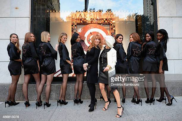 Linda Fargo makeup artist Charlotte Tilbury attend Charlotte Tilbury Arrives In America VIP Beauty Launch event presented by Bergdorf Goodman 5th...
