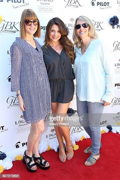 Linda Figueiredo actress Cerina Vincent and Erika Kaestle attend PILOT PEN GBK's PreEmmy Luxury Lounge Day 2 at L'Ermitage Beverly Hills Hotel on...
