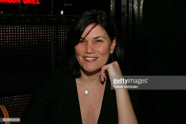 Linda Fiorentino attends Thank You For Smoking After Party at Elaine's on February 22 2006 in New York City