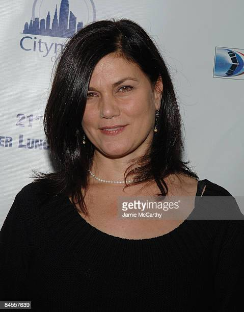 Linda Fiorentino attends the 21st Annual CitymealsonWheels' Power Lunch for Women at The Rainbow Room in New York November 162007