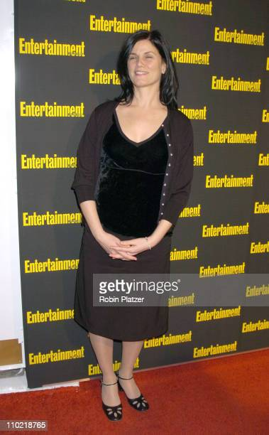 Linda Fiorentino during Entertainment Weekly 11th Annual Oscar Viewing Party at Elaines Restaurant in New York City New York United States