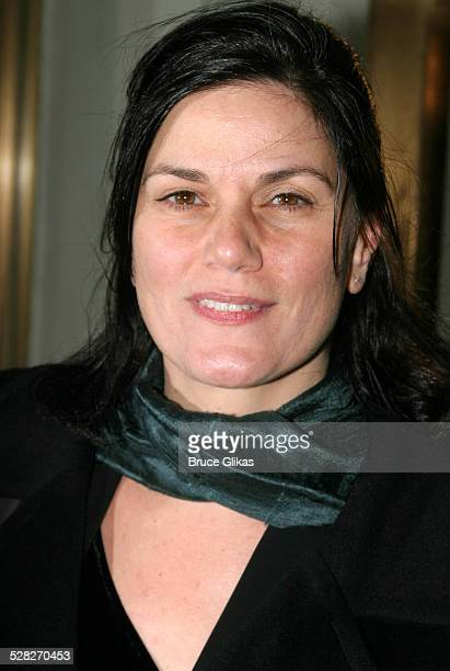 Linda Fiorentino during The Retreat From Moscow Opening on Broadway at Laura Belle Supper Club in New York City New York United States